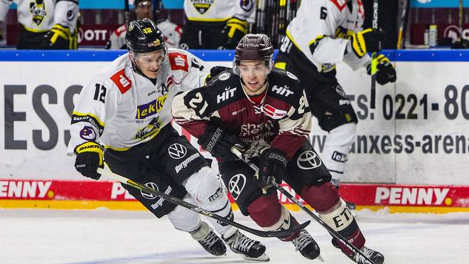 Die Kölner Haie kämpfen sich zum Sieg