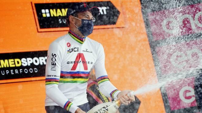 Filippo Ganna triumphierte am Samstag