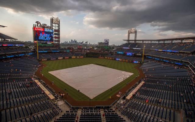 Bei den Philadelphia Phillies kann derzeit nicht trainiert werden