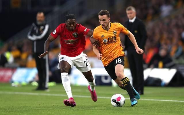 Diogo Jota (r.) spielte zuletzt für die Wolves