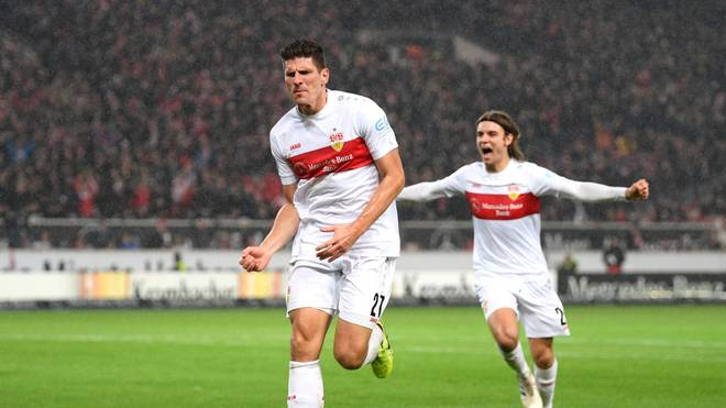 Der VfB Stuttgart kann in Liga zwei auf Platz zwei springen
