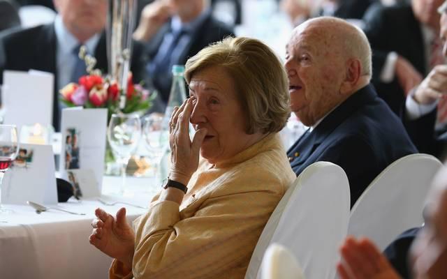 Marianne Braun unterstützte die sozialen Projekte ihres Mannes Egidius Braun