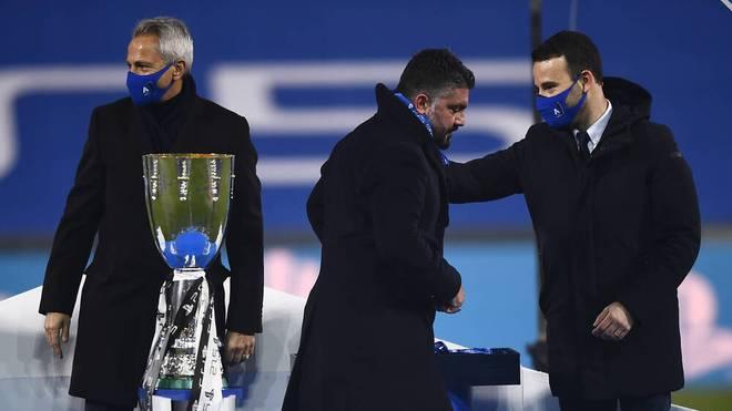 Serie-A-Boss Paolo Dal Pino (l.) steht unter Druck