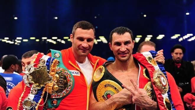 Vitali und Wladimir Klitschko auf dem Höhepunkt ihrer Dominanz 2011