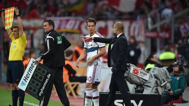 Lukas Görtler spielte in der Saison 2014/2015 für den FC Bayern