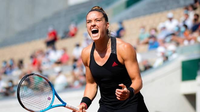 Maria Sakkari steht im Viertelfinale von Roland Garros