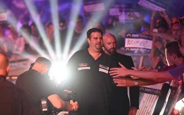 Publikumsliebling: So war es für Gabriel Clemens beim German Darts Masters 2019 in der LANXESS arena in Köln
