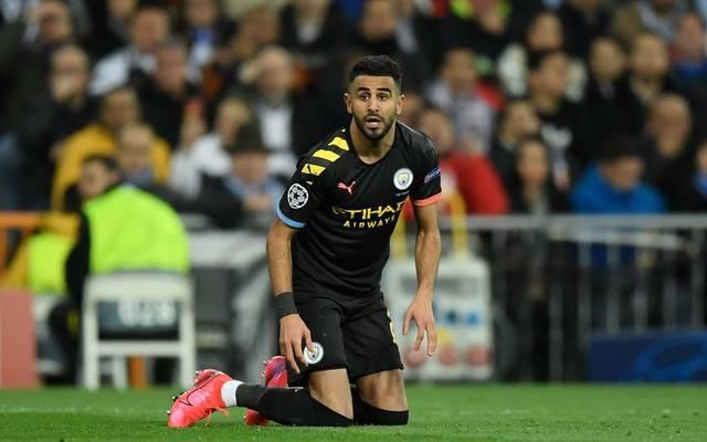 Riyad Mahrez von Manchester City wird Opfer eines Einbruchs