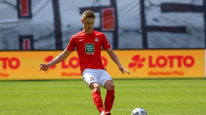 Carlo Sickinger kommt vom 1. FC Kaiserslautern