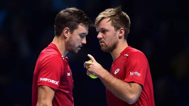Kevin Krawietz und Andreas Mies verpassen Halbfinale in London