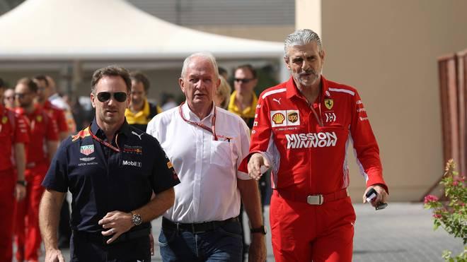 Red-Bull-Motorsportberater Helmut Marko sieht in Ferrari keine Konkurrenz für die kommende Saison