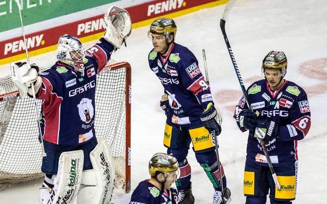 Die Eisbären Berlin haben das Playoff-Ticket in der PENNY DEL gelöst
