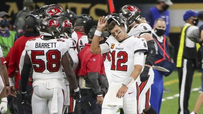 Bradys Bucs unter Druck - O:2-Fehlstart droht