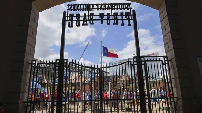 Die Texas Rangers öffnen ihre Tore wieder für ein volles Stadion