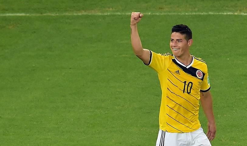 Er ist der Titelverteidiger: James Rodriguez wurde bei der WM 2014 mit sechs Toren Torschützenkönig. Wer beerbt den Kolumbianer - oder verteidigt der Bayern-Star seinen Titel?