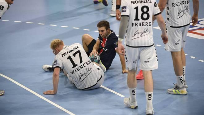 Patrick Wiencek vom THW Kiel verletzte sich beim Sieg gegen PSG