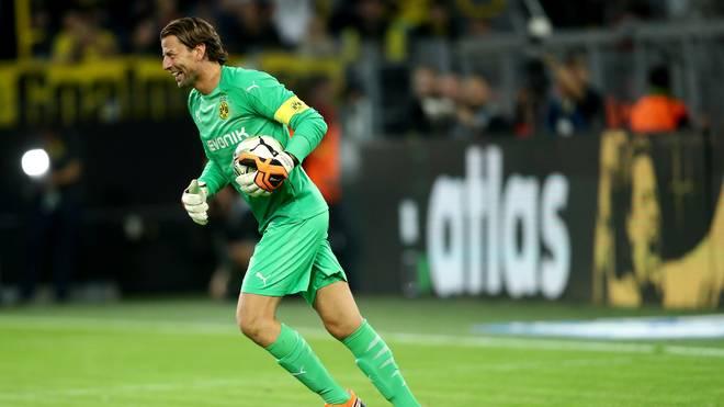Roman Weidenfeller spielt seit seinem Karriereende im Legendenteam von Borussia Dortmund