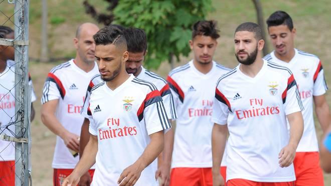 Hany Mukhtar im Training von Benfica Lissabon