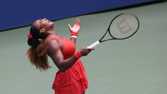 Serena Williams steht im Halbfinale der US Open