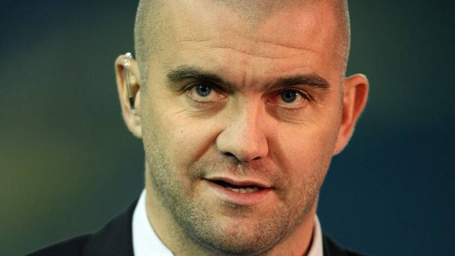 LEEDS, UNITED KINGDOM - NOVEMBER 7:  Former Leeds United player Dominic Matteo working as a pundit for Setanta Sports during the F.A Cup ,sponsored by e.on, First Round Match between Leeds United and Northampton Town at Elland Road on November 7, 2008 in Leeds, England. (Photo by Pete Norton/Getty Images)
