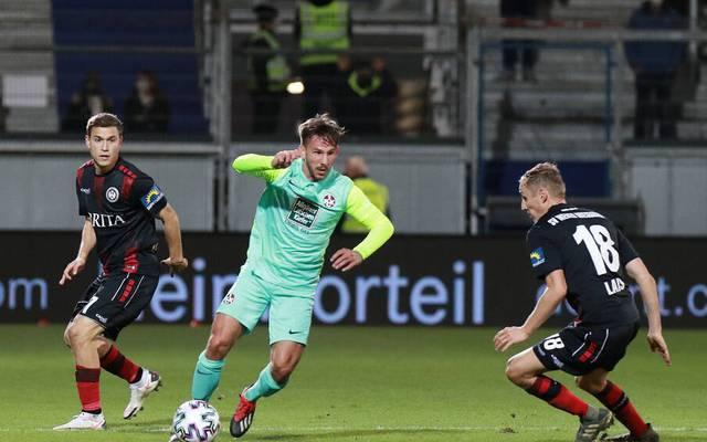 Der 1. FC Kaiserslautern rettete gegen Wehen einen Punkt