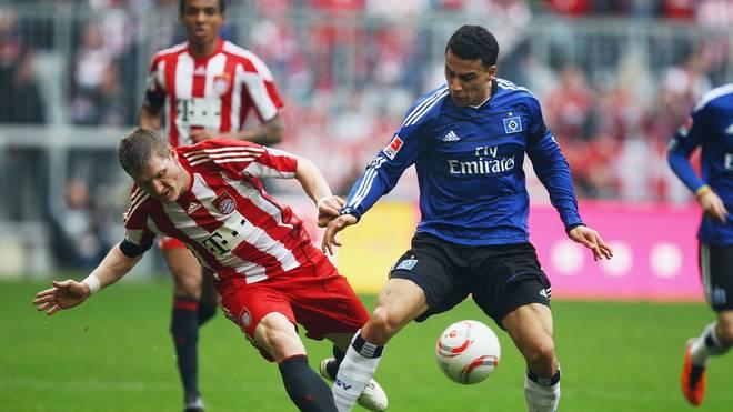 Änis Ben-Hatira (r.) entschied sich einst für den HSV - und gegen den FC Bayern