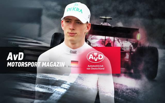 David Schumacher ist zu Gast im AvD Motorsport Magazin