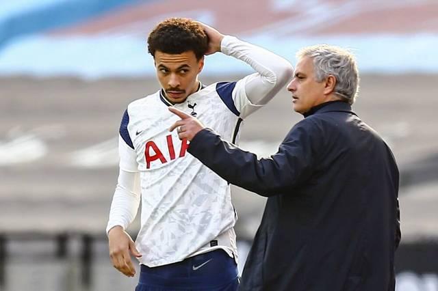 Dele Alli (l.) und José Mourinho (r.) hatten einen schwierigen Start