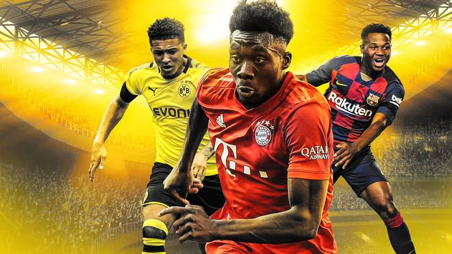 Alphonso Davies (M.) war für den Golden Boy 2019 nominiert