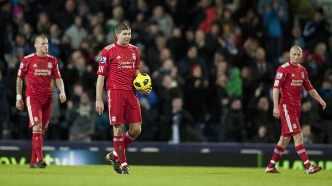 Der FC Liverpool stand im Oktober 2010 kurz vor der Pleite