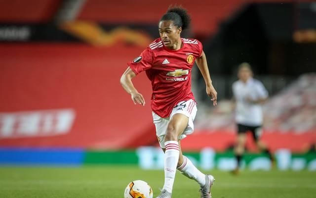 Tahith Chong spielte zuletzt in der Europa League für Manchester United