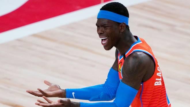 Dennis Schröder fehlt den Oklahoma City Thunder aktuell in der NBA-Bubble