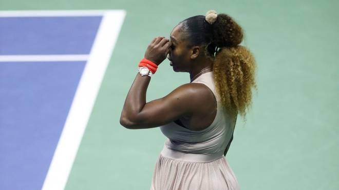 Serena Williams verlässt die US Open erneut ohne Pokal