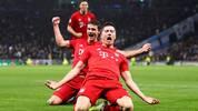 Robert Lewandowski gegen Tottenham