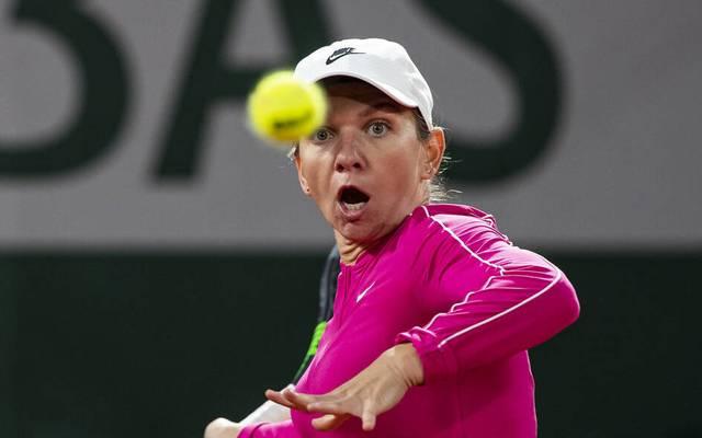 Simona Halep ist bei den French Open eine Runde weiter