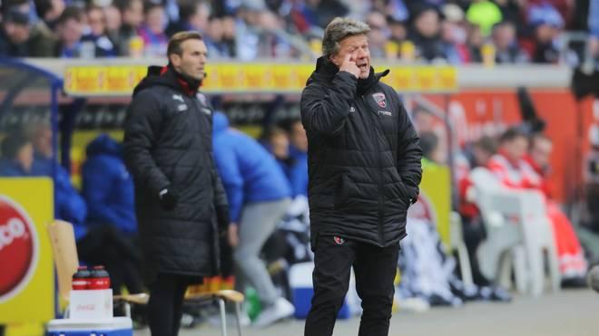 Jeff Saibene und der FC Ingolstadt müssen eine Niederlage verkraften