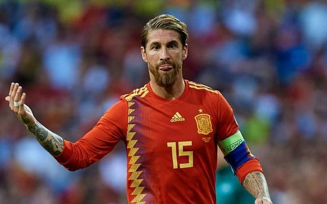 Sergio Ramos führt Spanien als Kapitän in der WM-Qualifikation an