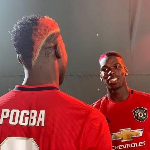 Paul Pogba sorgt auf dem Feld nicht nur mit seinen fußballerischen Fähigkeiten für Aufsehen - auch die Frisuren des Superstars von Manchester United sind ein echtes Highlight