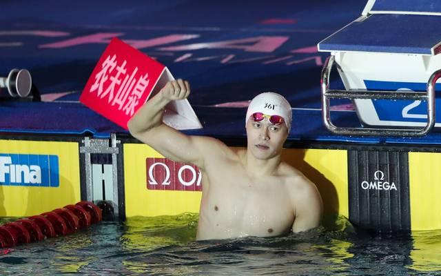 Sun Yang will gegen seine Sperre Berufung einlegen