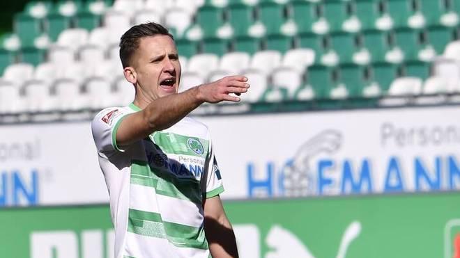 Paul Seguin blieb mit Fürth zuletzt zweimal in Folge sieglos