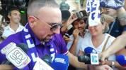 Mega-Empfang für Franck Ribery: Fans der AC Florenz feiern Transfercoup