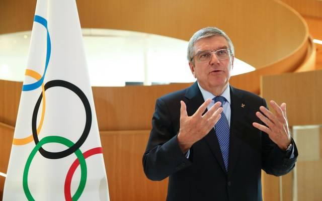 IOC-Präsident spricht über die neue Kooperation mit der WHO und der UN