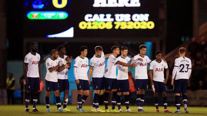 Tottenham Hotspur blamierte sich bei Colchester United im League Cup