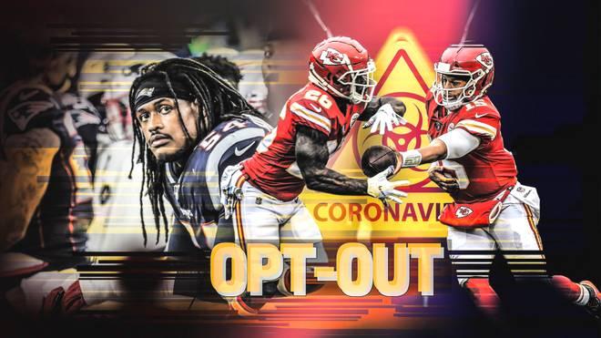 Diverse NFL-Spieler verzichten aufgrund von COVID-19 auf die kommende Saison