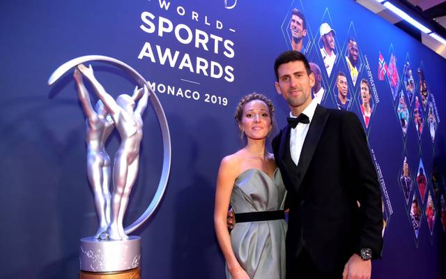 Jelena Djokovic ist seit 2014 mit Novak Djokovic verheiratet