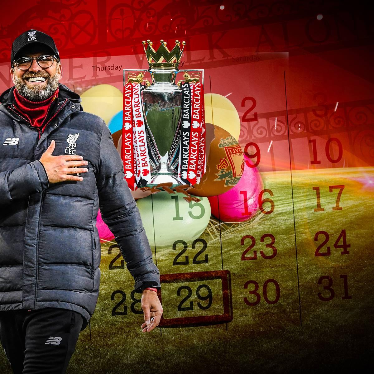 Wann Liverpool Meister werden kann