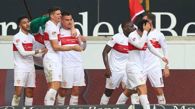 Der VfB Stuttgart trifft am Abend auf den 1. FC Nürnberg