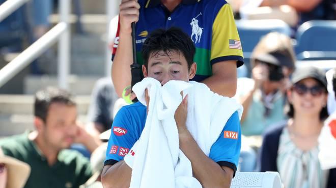 Mit Kei Nishikori droht der nächste Star die US-Open zu verpassen