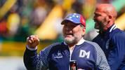 Diego Maradona ist nicht mehr Trainer von Gimnasia La Plata