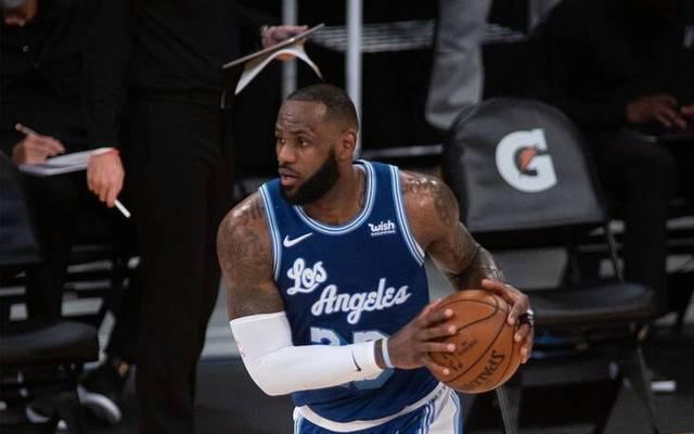 LeBron James verlor mit den Lakers trotz starker Leistung